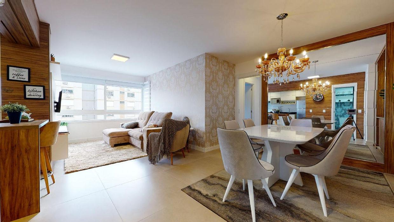 Sala de apartamento em Porto Alegre