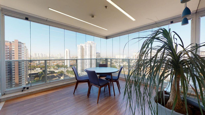 Sala de reuniões em condomínio de São Paulo