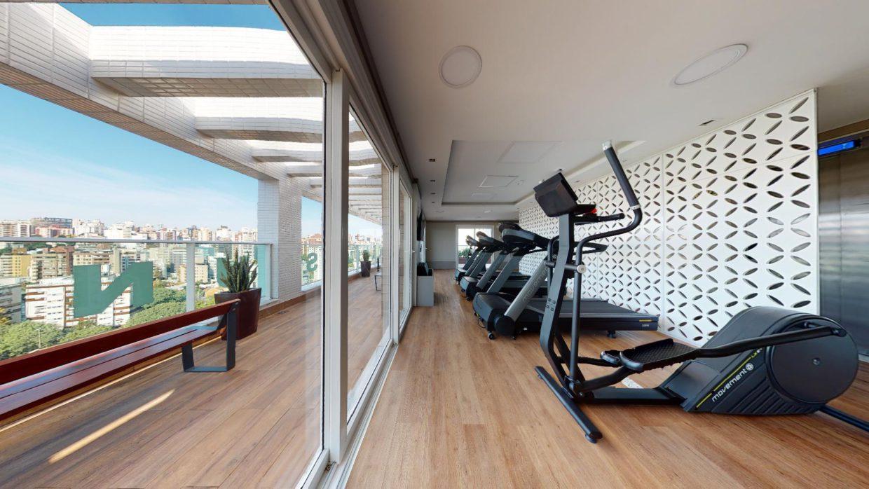 Área fitness em condomínio de Porto Alegre